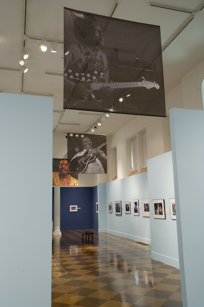 The Delta Blues Musicians Exhibit, Fullerton, CA