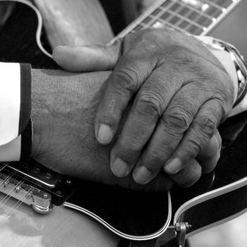 Hands of blues musician Robert Lockwood Jr., Mississippi