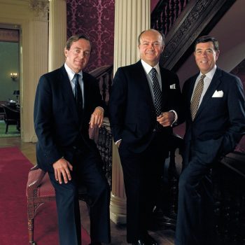 Portrait of investment bankers. Shot for US Trust.