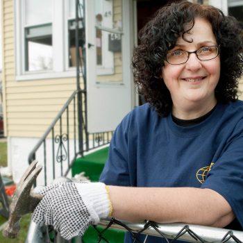 Volunteer for Kiwanis, Hurricane Sandy clean up, Keansburg, NJ