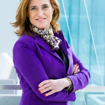 Female corporate executive - shot for Bayer