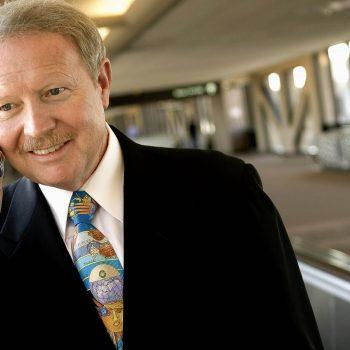 CEO of Alaska Airlines, Phoenix airport, AZ