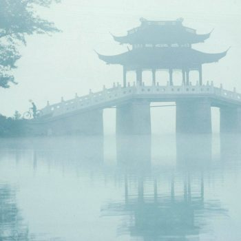 West Lake in mist, Hangzchou, China