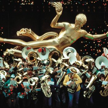 Tuba concert and Prometheus, Rockefeller Center, Christmas, NY, NY