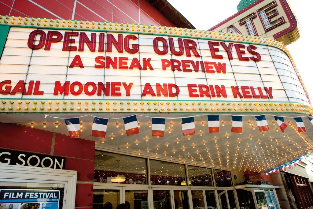 Opening Eyes Sneak Preview at the State Theater in Traverse City, Michigan