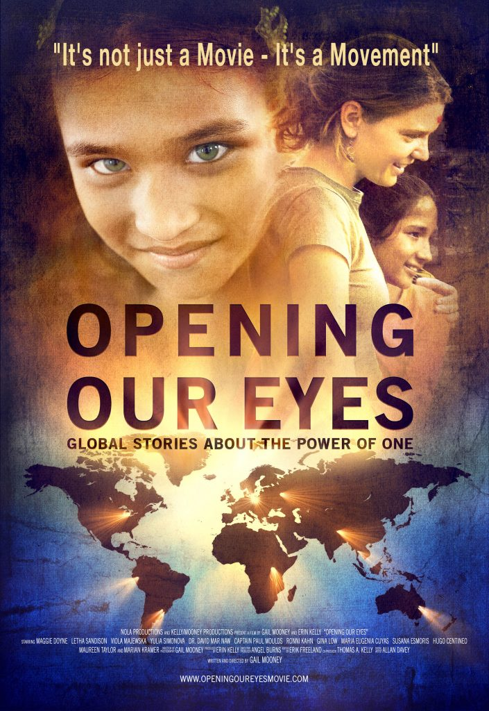 Opening Our Eyes documentary movie poster