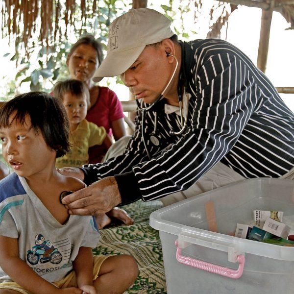 Dr. David MarNaw,Hill tribe village, Thailand, Opening Our Eyes