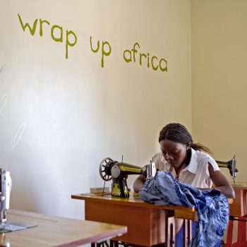 Tailor.Wrap Up Africa, Kampala, Uganda. Opening Our Eyes Movie.