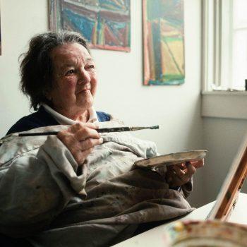 Woman artist, Outside Art, Vermont