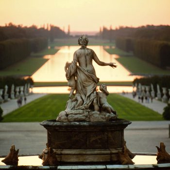 Fountain at Palace of Versailles, France